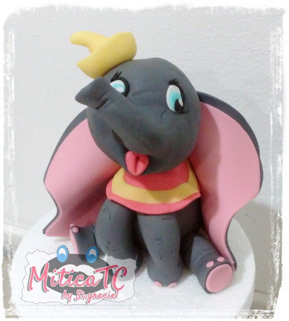 Mini Dumbo in pasta di zucchero