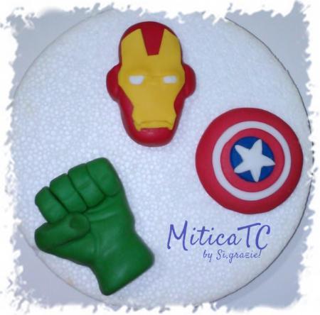 Decori simbolo degli Avengers