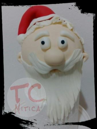 Testa di Babbo Natale