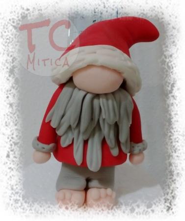 Topper Gnomo di Natale