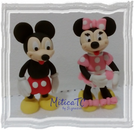 Mini Topolino e Minnie