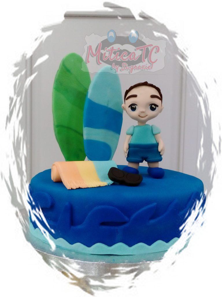 torta estiva surfista