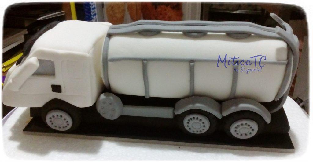 topper Camion del latte