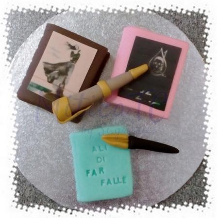 Kit Mini Libri in pasta di zucchero