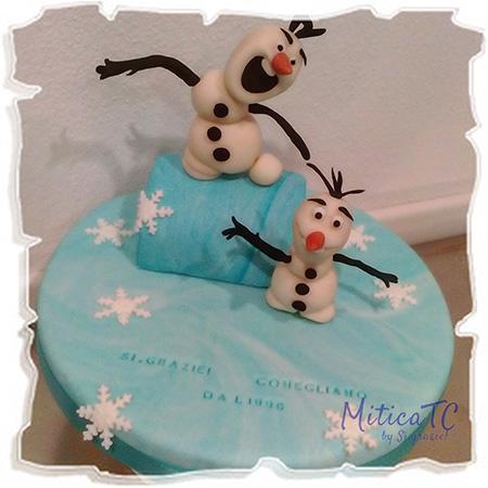 Topper Olaf di Frozen