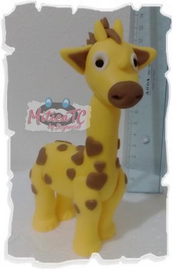 Giraffa in pasta da modelling