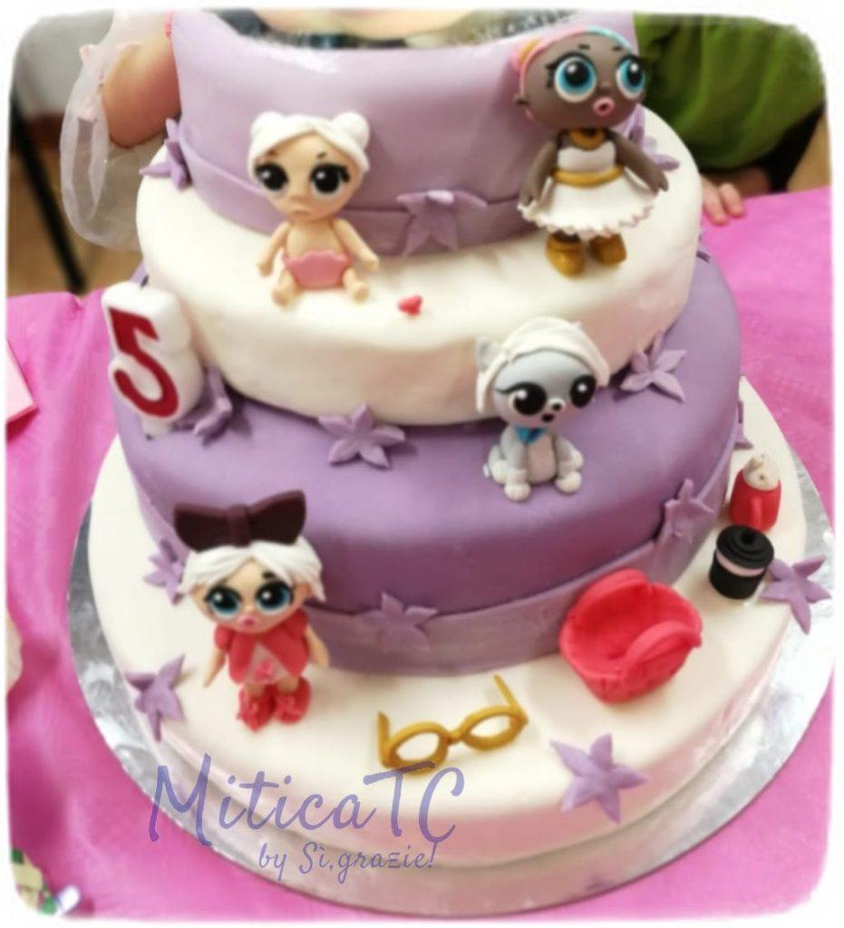 torta LOL decori realizati da MiticaTC