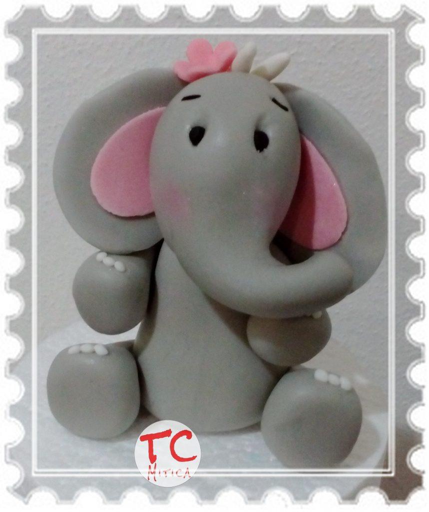 Elefantina in pasta di Zucchero